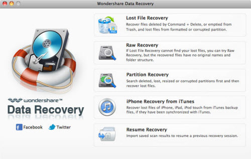 Best Data Recovery Software for Mountain Lion-Recover Lost Data Files on OS X Mountai