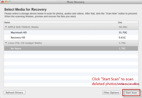 Canon Vixia Video Recovery