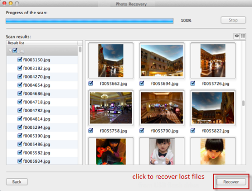 retrieve deleted pictures from sony cybershot